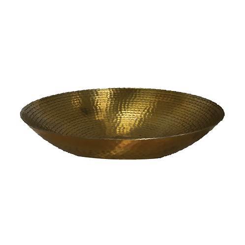 Oyster Bowl - Gold