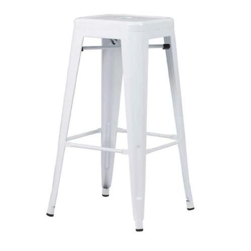 Tolix Bar Chair - White