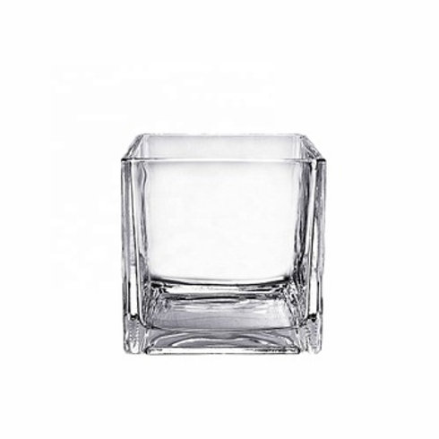 Square Votive - Glass (7x7cm)