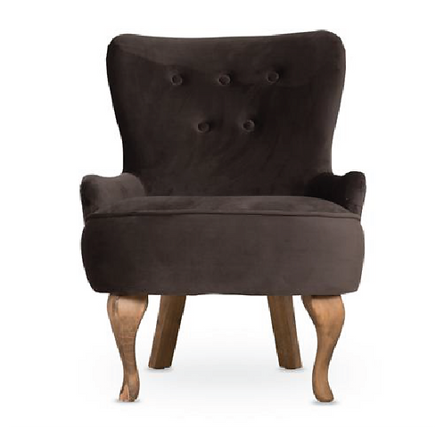 Grace Armchair - Charcoal