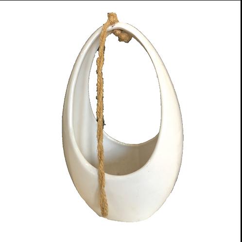 Ceramic Egg Vase