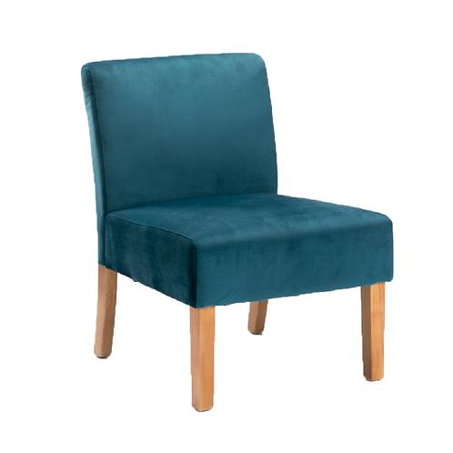 Anais Velvet Chair - Teal