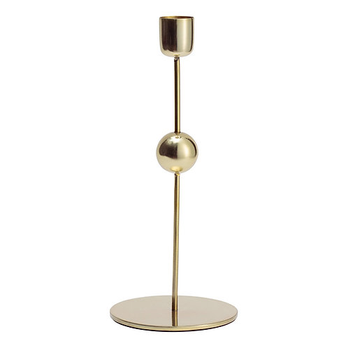 Bubble Candlestick -Gold (Tall)