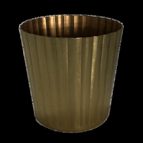 Heather Metallic Vase -Gold (Large)