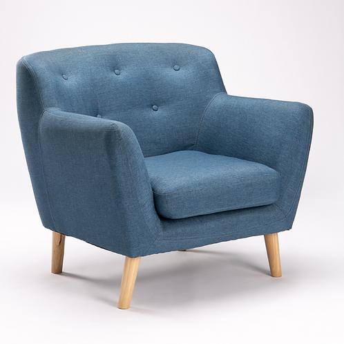 Tweed Armchair - Teal