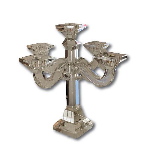 Crystal Candelabra - 5 Arm (28cm)