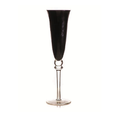 Champagne Glass -Black