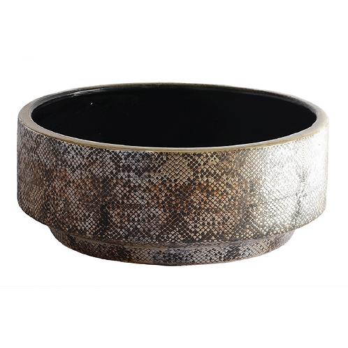 Ceramic Snake Skin Bowl - XL