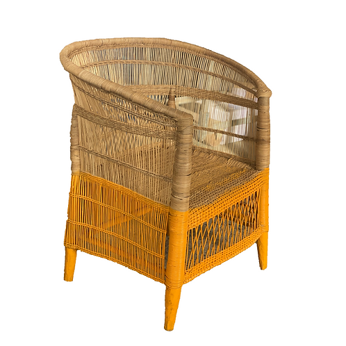 Malawai Chair - Dipped Mustard