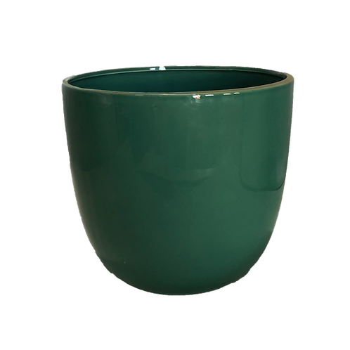 Ceramic Pot - Teal (Large)
