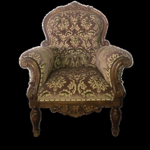 Dynasty Armchair - Dusty Pink