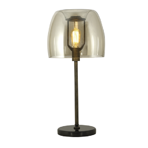 Bubble Table Lamp - Amber