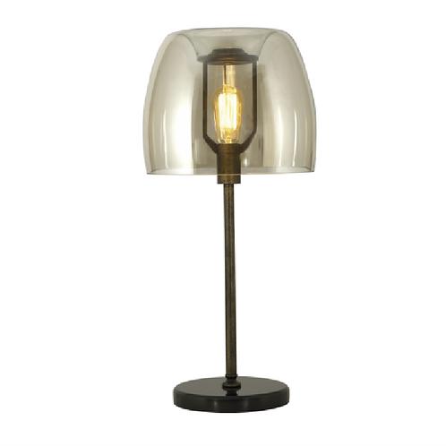Bubble Table Lamp - Amber
