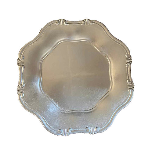 Cornucopia Underplate - Silver