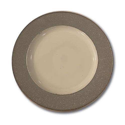 Glitter Underplate - Silver