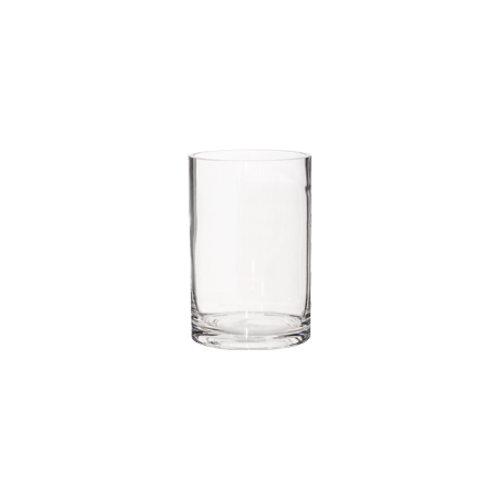 Cylinder Vase - Glass (14cm)