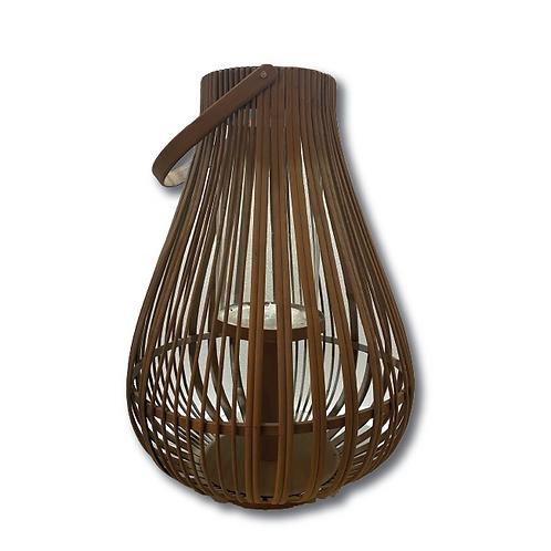 Gulf Breeze Lantern - Rattan