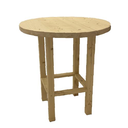 Melaine Cocktail Table -Raw Wood
