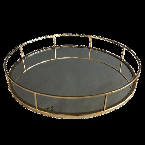 Mirror Tray - Gold