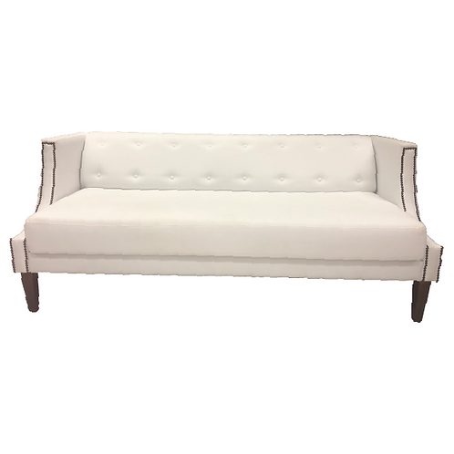 Cinnamon Couch - White