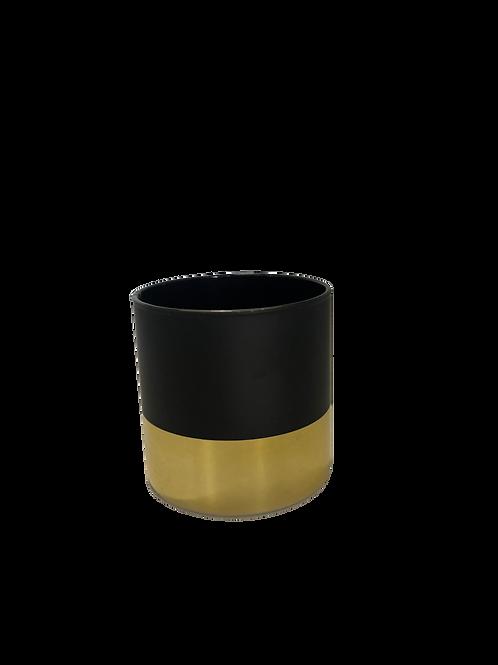 Cylinder Vase - Matte Black