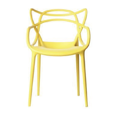 Masters Dining Chair - Yellow