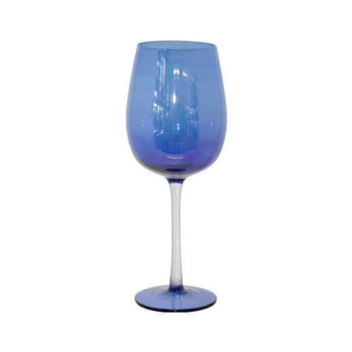 Wine Goblet - Blue Lustre