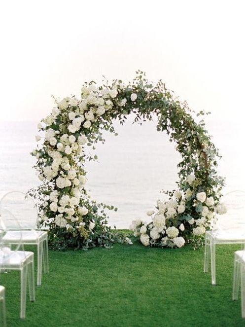 Circular Arch -White