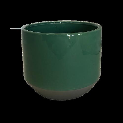 Ceramic Pot - Teal (Medium)