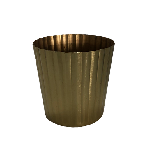 Heather Metallic Vase - Gold (Small)
