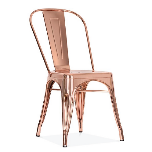 Tolix Chair - Rose Gold
