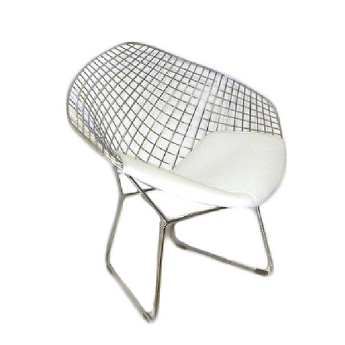 Venus Chair - Silver & White