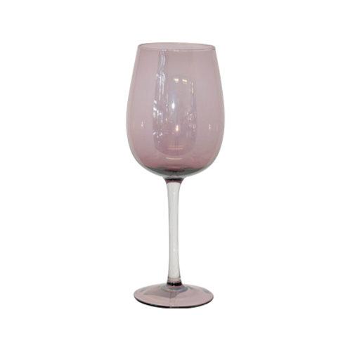 Wine Goblet - Plum Lustre
