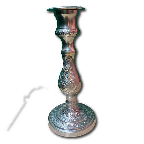 Vintage Candlestick -Silver (Short)