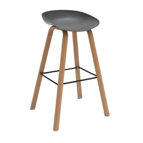 Jozi Bar Chair - Grey