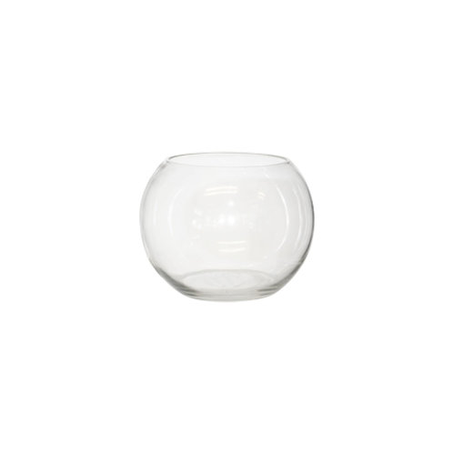 Rose Bowl - Glass (11X15CM)