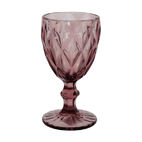 Trent Wine Glass -Plum