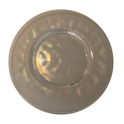 Glass Underplate - Mother of Pearl