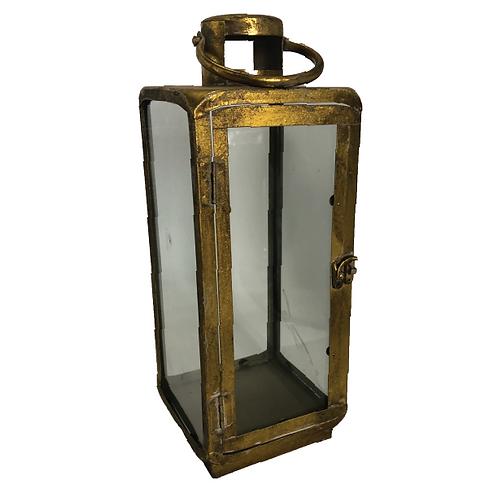 Old Gold Lantern -Tall