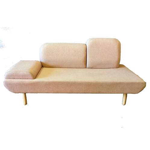 Retro Donna Couch- Blush Pink