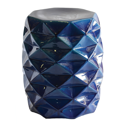 Facet Side Table - Blue