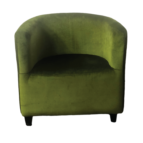 Tub Chair - Olive Green