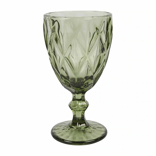 Trent Wine Glass - Green