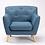Thumbnail: Tweed Armchair - Teal