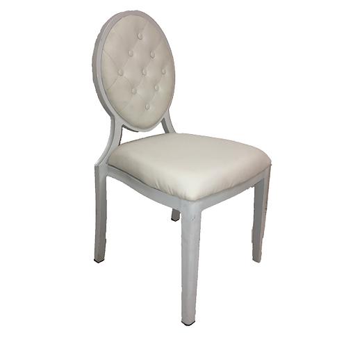 Queen Anne Chair - White