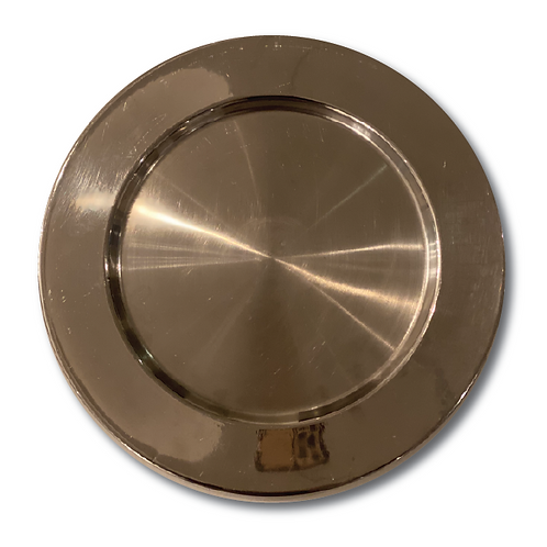 Stainless Steel Underplate - Silver