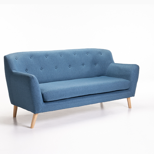 Tweed Three Seater - Teal