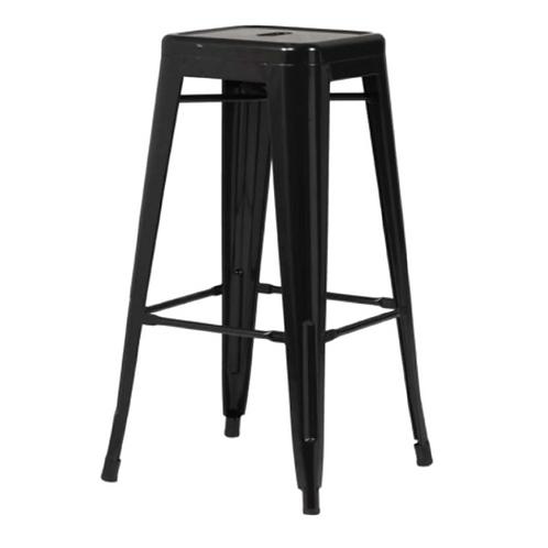 Tolix Bar Chair - Black