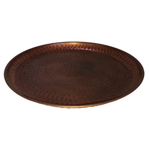Hammered Tray - Rose Gold