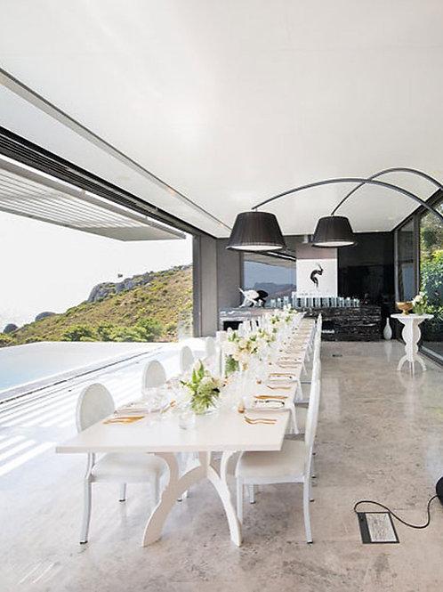 Interlinkable Dinner Table - White